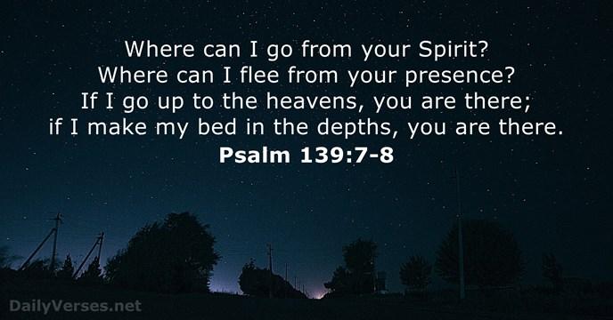 psalms-139-7-8